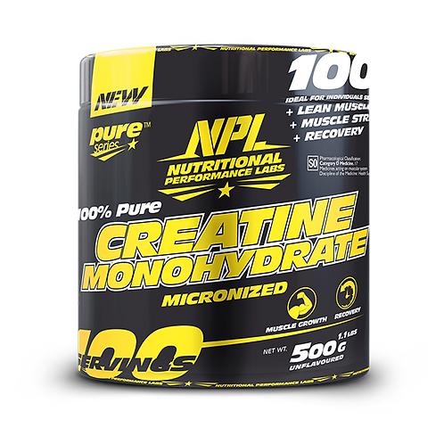 NPL Creatine Monohydrate 500G