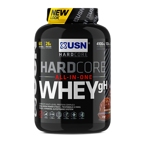 USN Hardcore Whey GH 2kg