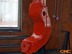 Изготовление лапы бокового захвата вибропогружателя Movax