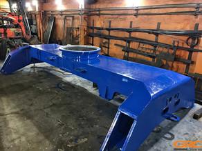 Ремонт ходовой тележки экскаватора Terex Fuchs MHL 360