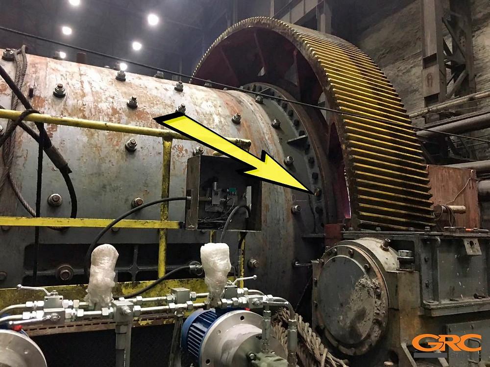 Болты венца шаровой мельницы МШР 3,6х5