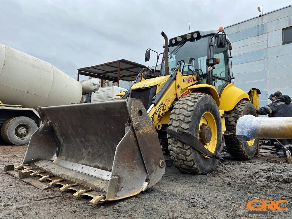 Фотография до ремонт навесного оборудования трактора New Holland B115