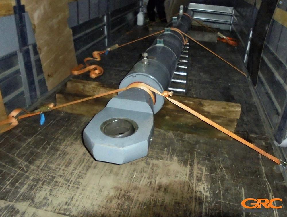 Гидроцилиндр подъёма после ремонта