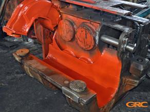 Ремонт бокового захвата вибропогружателя Movax SPH 80