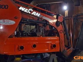 Ремонт рамы фронтального погрузчика Wecan GM 800