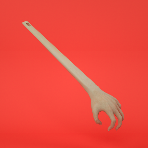 The Helping Hand Back Scratcher