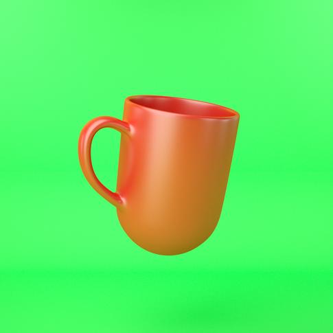 The Topsy-Turvy Mug