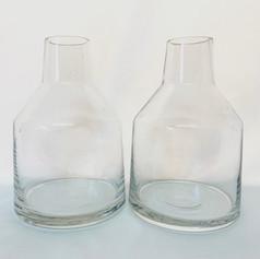 tapered neck vase