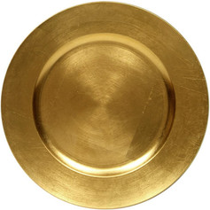 gold dinner plate chargers
