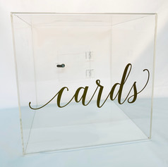 gift card collection box