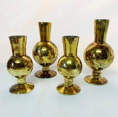 nile gold bud vases