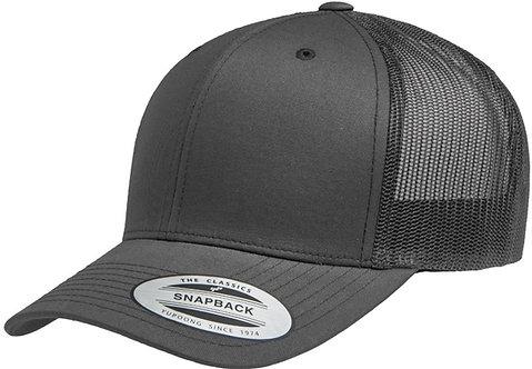 כובע רשת אפור פחם