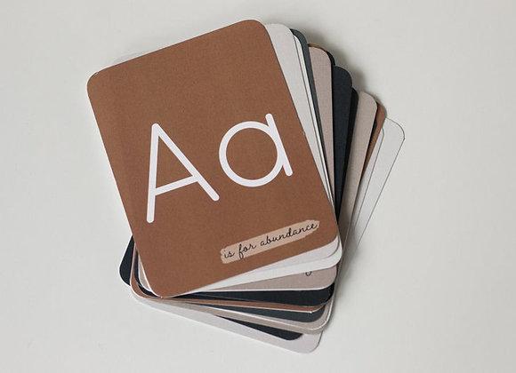 Oliver & Ko Kindness Alphabet Cards