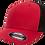 כובע רשת אדום/שחור
