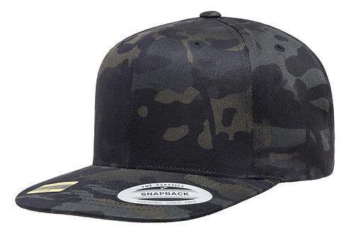 כובע מצחייה ישרה - צבעי הסוואה