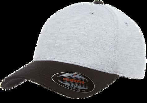 כובע ג'רסי אפור / שחור