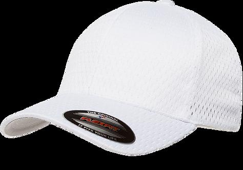 כובע רשת ספורטיבית בצבע לבן