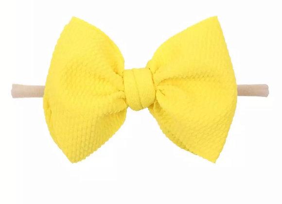 Nylon Headbands — Red, Yellow & Orange