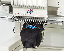 מכונת רקמה - כובעים