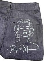 צריבה בלייזר על ג'ינס