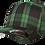 כובע פלקספיט - משבצות סקוטי ירוק