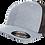 כובע אפור רשת שחור - ללא סוגר