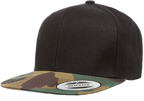 כובע מצחייה ישרה - קסקט צבאי