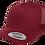 כובע רשת סנאפבק בורדו
