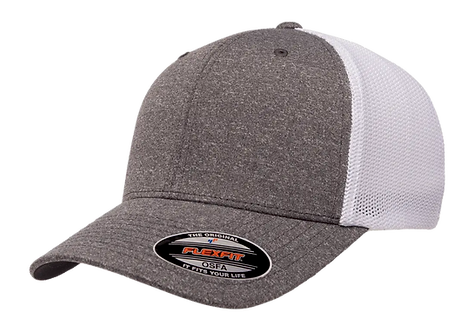 כובע ג'רסי כהה - רשת לבנה