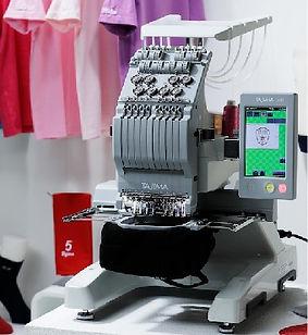 מכונת רקמה - רקמה על תיקים