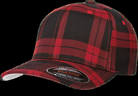 כובע פלקספיט - משבצות סקוטי אדום