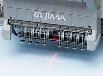 מכונת רקמה ממוחשבת - סמן לייזר