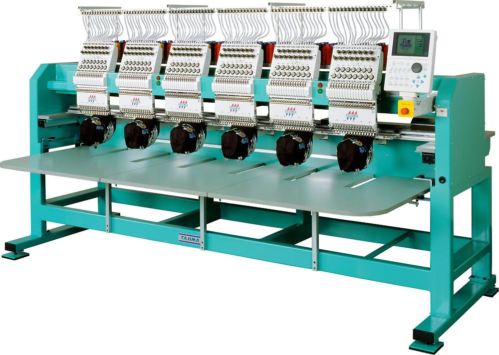 מכונת רקמה תעשייתית