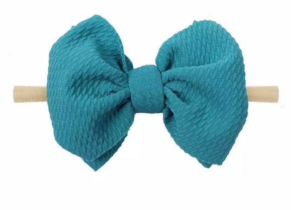 Nylon Headbands — Blue & Green