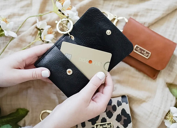 Itzy Mini Wallet™ Card Holder & Key Chain Charm