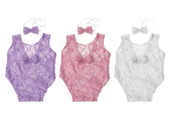 Newborn Lace Bodysuit