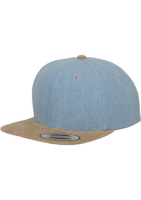 כובע מצחייה ישרה - קסקט זמש