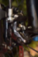 Etrier de frein avec plaquettes de frein AMP