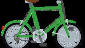 自転車と虫と私