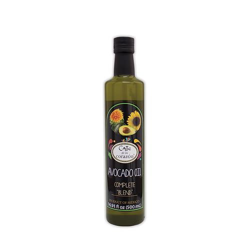 "Aceite Comestible de Aguacate ""Complete Blend"" 500ml"