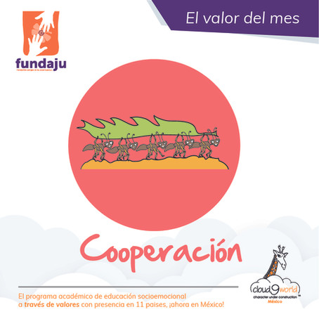 Valor del mes: Cooperación