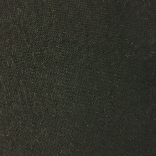 Capri Linen - black (Half Metre)