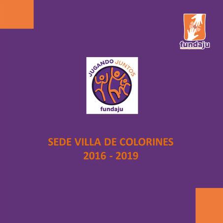 Clausura de la Sede Villa de Colorines