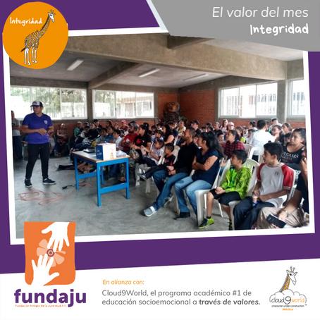 Capacitación a padres de familia en Sede Ixtapaluca.