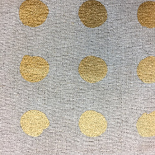 Mochi Linen by Zen Chic for Moda - gold (Half Metre)