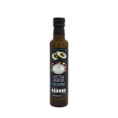 Aceite Comestible de Aguacate Mediterráneo 250ml