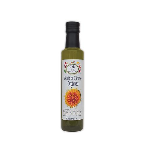 Aceite Comestible Orgánico de Cártamo 250ml