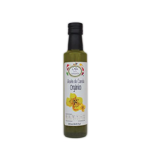 Aceite Comestible Orgánico de Canola 250ml