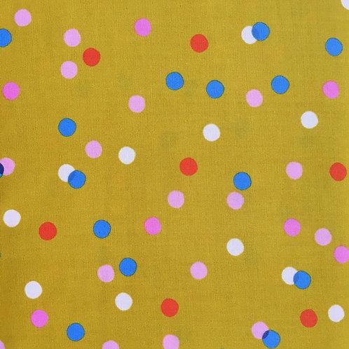 Spritz by Melody Miller - goldenrod (Half Metre)