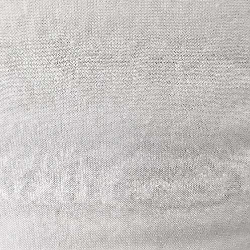 Capri Linen - white (Half Metre)